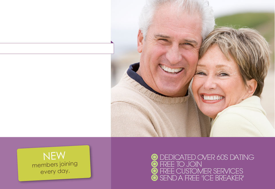 free dating site for over 60s